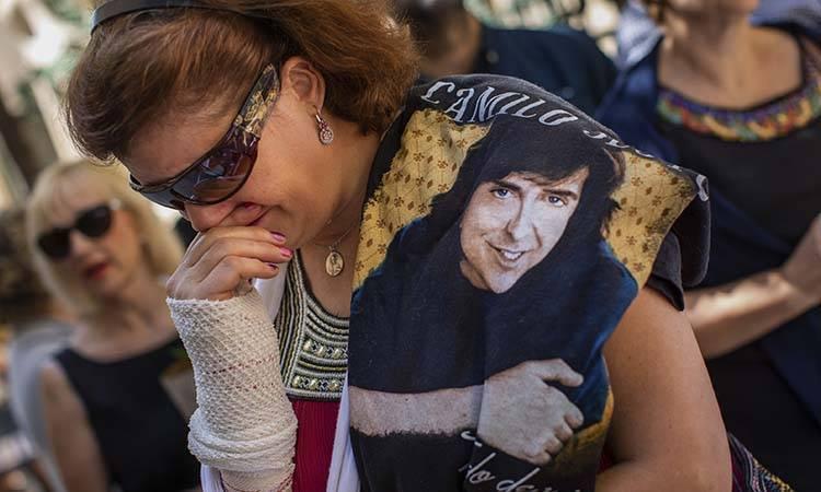Actualidad: Camilo Sesto conquistó al público con baladas melódicas